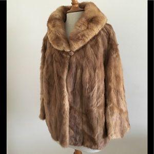 Vintage Fur Coat/Cape
